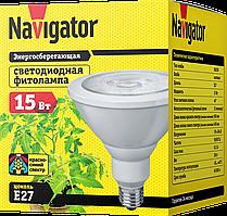 Лампа светодиодная для роста растений Navigator 61201 NLL-FITO-PAR38-15-230-E27