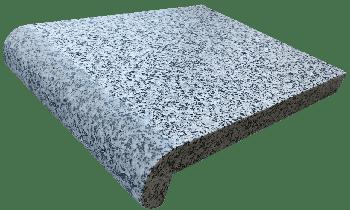 Копинговый камень из Гранита серый 28 х 100 см.
