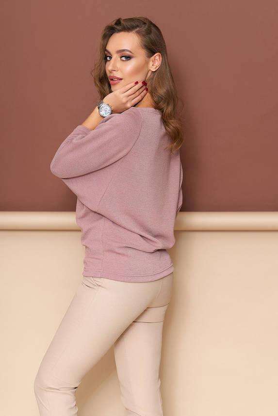 Кофточка молодежная и современная розовая, фото 2