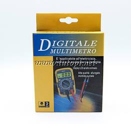 Мультиметр Digital DT830LN, типы измерений - DCV, АCV, DCA, АCA, Ом.