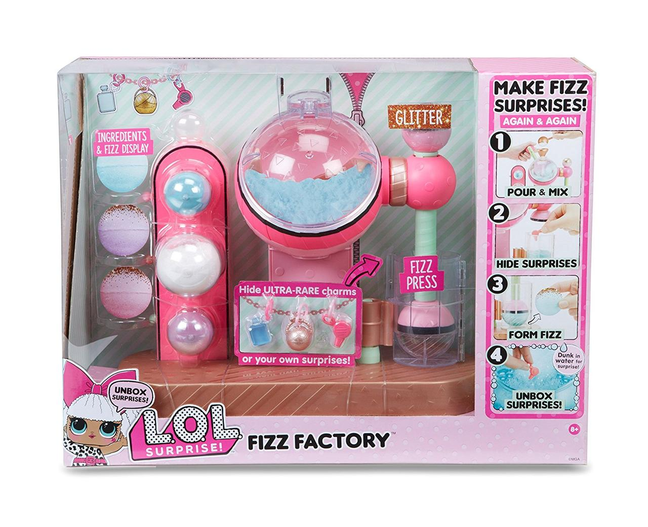 ЛОЛ сюрприз Фабрика шипучек / L.O.L. Surprise! Fizz Factory