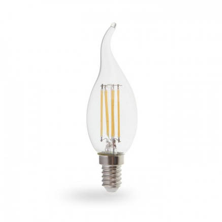 Светодиодная лампа свеча Е14 4W Feron LB-59, фото 2
