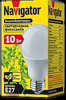 Лампа світлодіодна для росту рослин Navigator 61202 NLL-FITO-A60-10-230-E27