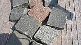 Гранитная брусчатка, бордюр ,плитка из гранита, фото 3