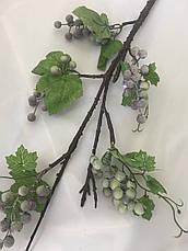 Искусственная ветка с ягодами.Декоративная ветка., фото 3