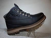 Зимние мужские ботинки на меху теплые