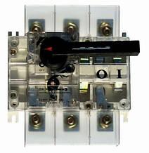 Выключатель-разъединитель ВН в корпусе  3 полюса 160А  15kA  380B
