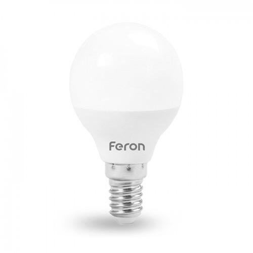 Светодиодная лампа G45 4W Е14 Feron LB-380