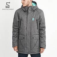 Зимняя мужская куртка UP S1, серая