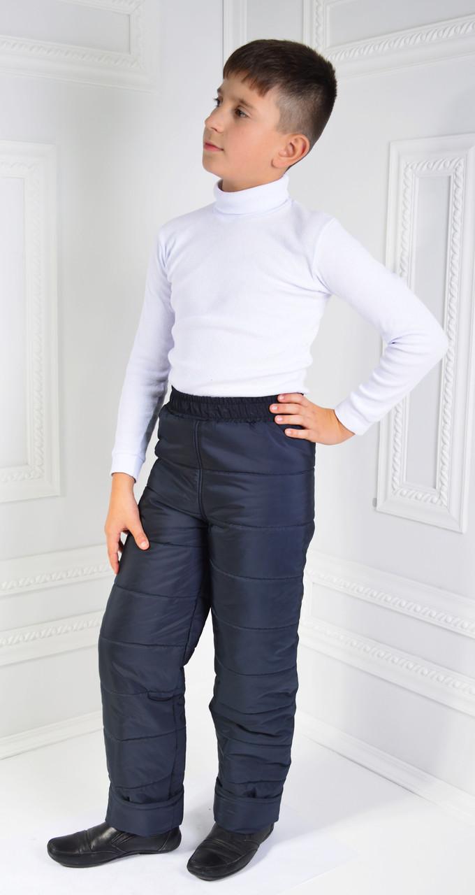Теплые детские зимние штаны 122-128-134-140 см