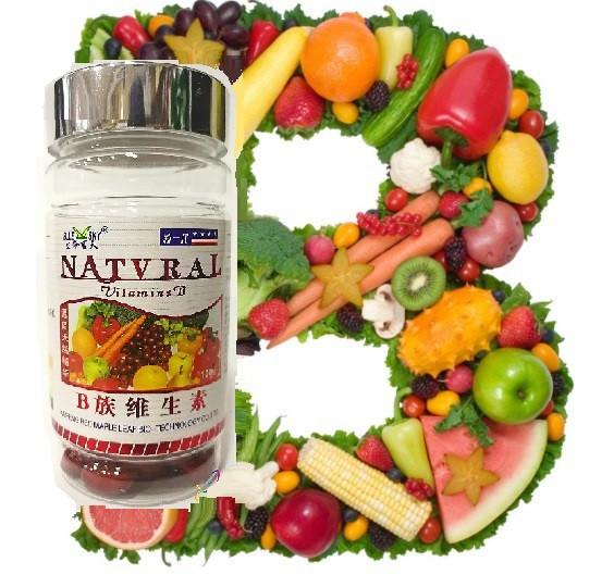 Мягкие капсулы группы «Витаминов В (Vitamin В)» 100шт