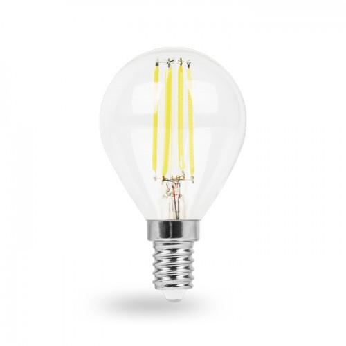 Светодиодная лампа G45 4W Е14 Feron LB-61