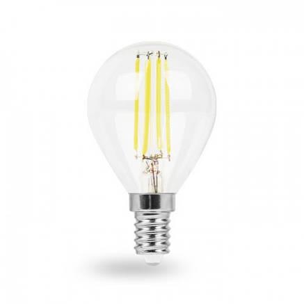 Светодиодная лампа G45 4W Е14 Feron LB-61, фото 2