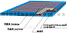 Дезинфицирующий коврик 50х50х3см, фото 2