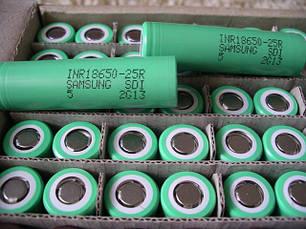 Аккумуляторы для электронных сигарет 18650 литиевые высокотоковые