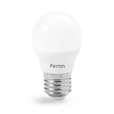 Светодиодная лампа G45 7W Е27 Feron LB-195 SAFFIT, фото 2