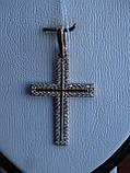 Серебряный позолоченный крест, фото 8