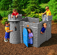 """Игровой центр с горкой """"Крепость"""" Little Tikes 172083, фото 1"""