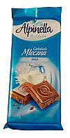 Шоколад Alpinella (в ассортименте) ,  90 г, фото 1