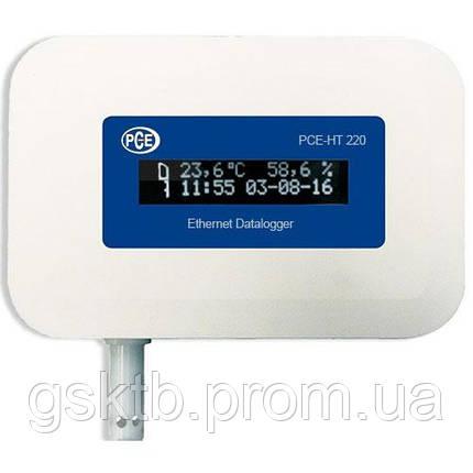 Регистратор температуры и влажности c сетевым интерфейсом PCE-HT420 (Германия), фото 2