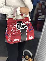 Эксклюзивная женская сумочка DOLCE&GABBANA 'Sicily' натуральная кожа (реплика), фото 1
