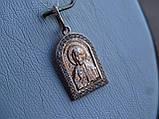 """Серебряная позолоченая икона """"Иисус Христос"""", фото 5"""