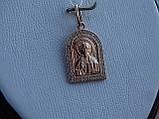 """Серебряная позолоченая икона """"Иисус Христос"""", фото 6"""