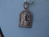 """Серебряная позолоченая икона """"Иисус Христос"""", фото 7"""