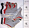 Набор Calvin Klein (стринги, шортики, топик) КОПИЯ