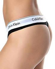 Набор Calvin Klein (стринги, шортики, топик) КОПИЯ, фото 2