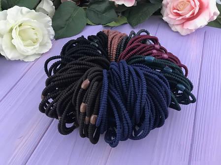 Набор резинок для волос 7-ми цветов, 100 штук, фото 2
