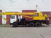 Услуги и аренда автокрана КС-55727-1; 25 тонн; 28 метров стрела