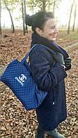 Сумка женская стеганная, женская сумка, сумка из ткани, сумка женская стеганая Chanel (Шанель) копия