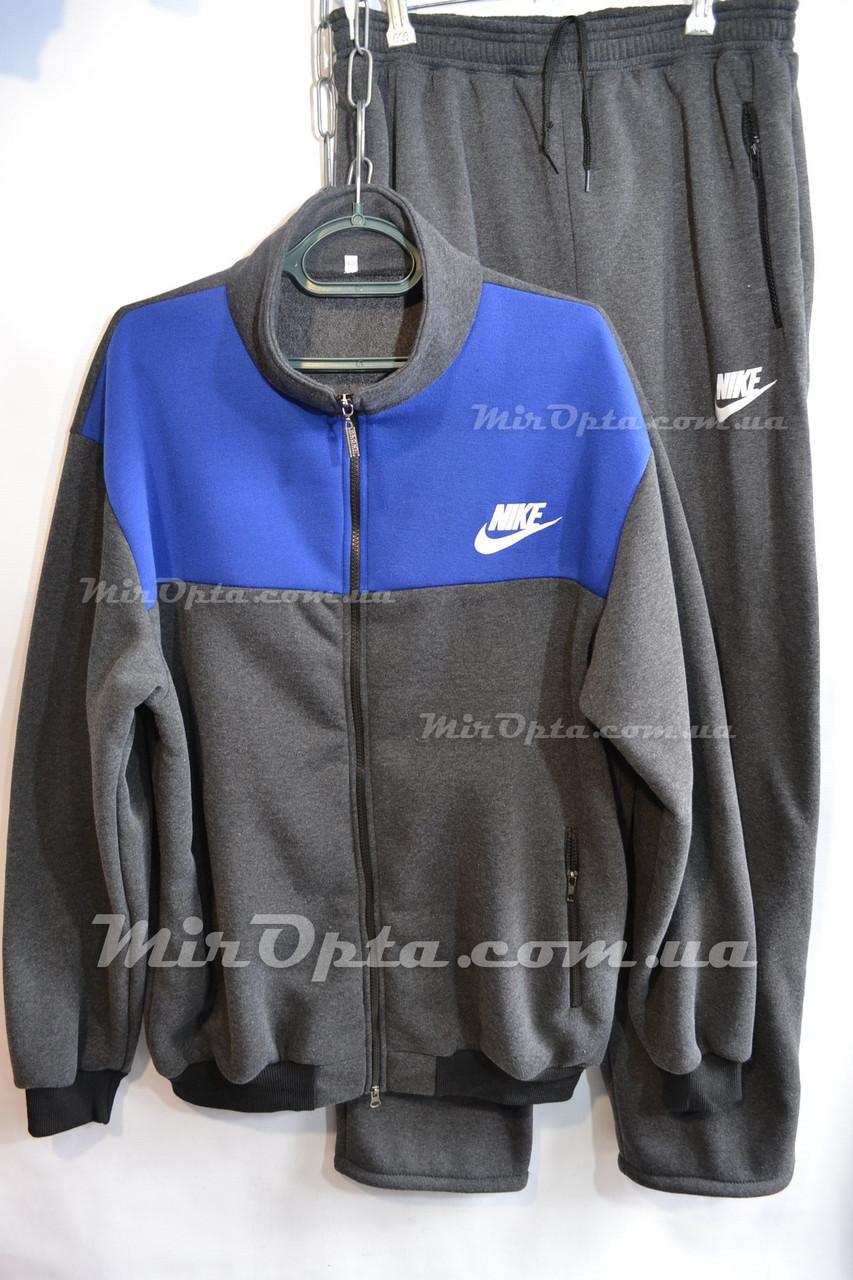 Мужской спортивный костюм Nike на флисе (р. 56 - 62) купить оптом со склада 6b7ba02cce520