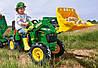 Педальный трактор Rolly toys John Deere 710126