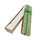 Подарочная коробочка под браслет или цепочку Узор 21*4,2*2 см, фото 7