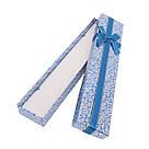 Подарочная коробочка под браслет или цепочку Узор 21*4,2*2 см, фото 8