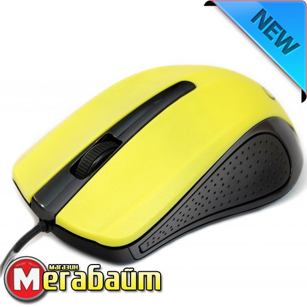 Мышь Gembird MUS-101-Y желтая USB