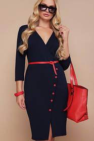 Стильное платье на любой случай большие размеры 48 50 52 54