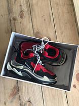 Женские кроссовки Balenciaga Triple S Red 516440-W09O7-6576, фото 3