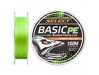 Шнур Select Basic PE 150m (салат.) 0.18mm 22lb/9.9kg