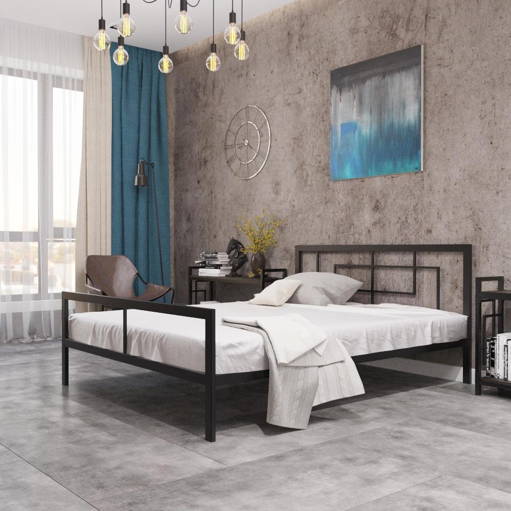 Металлическая кровать Квадро ТМ «Металл-Дизайн»