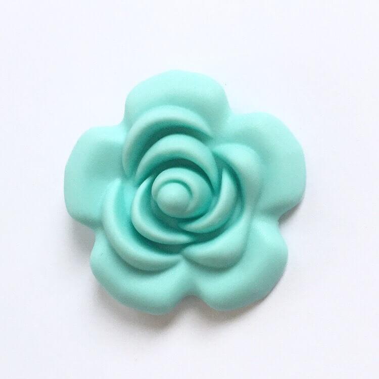 Роза большая (тиффани), силиконовые бусины