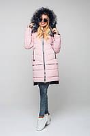 Зимняя женская куртка в 8ми цветах ЗИГЗАГ 42-56 размеры, фото 1