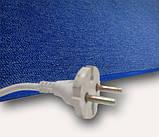 Килимок електричний для підлоги ковроліновий 150 х 60 см., Килимок з підігрівом 300W , фото 5