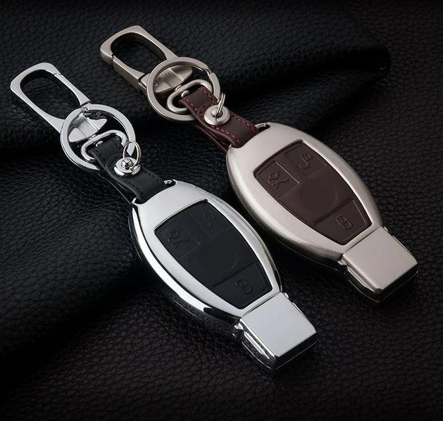 Металлический чехол ключа Mercedes A,AMG GT,B,C,Citan,CLA,CLC,CL,CLK,CLS,E,G,GLA, GLC,GL,GLE,GLK,GLS,M,R,S