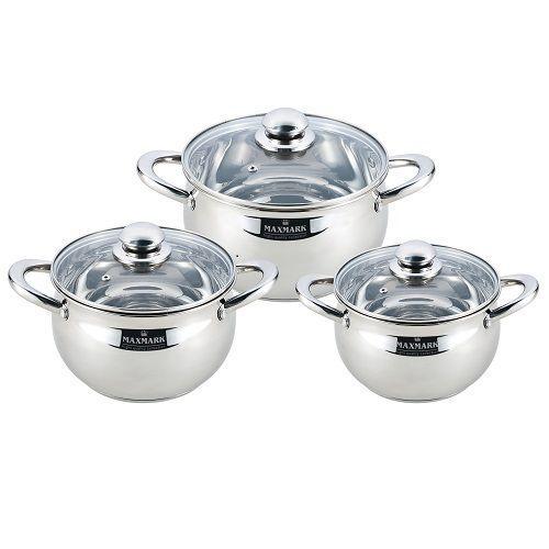 Набор посуды MAXMARK MK-APP7506A (6 пр.)