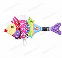 """Дидактическая детская игрушка """"Рыба"""""""