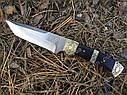 Нож нескладной Танто FB103, кожаный чехол в комплекте, фото 2