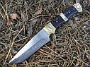 Нож нескладной Танто FB103, кожаный чехол в комплекте, фото 3